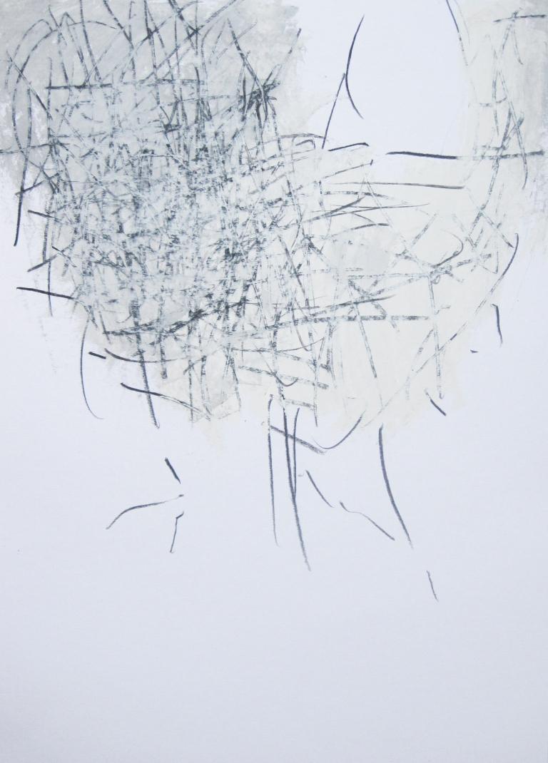 weiße strukturen II if art